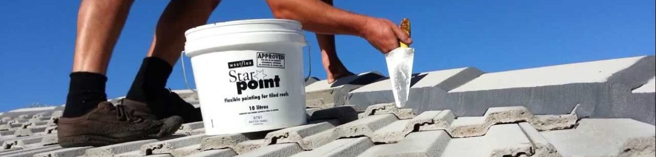 Metro Gutters Perth – tiled ridge capping